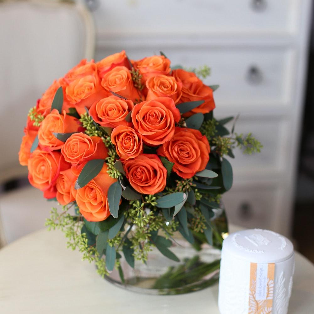 Mandarin Roses