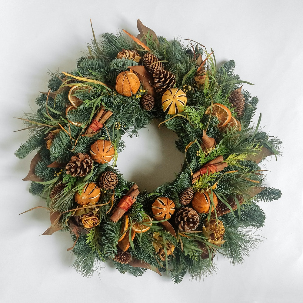 Wreath orange