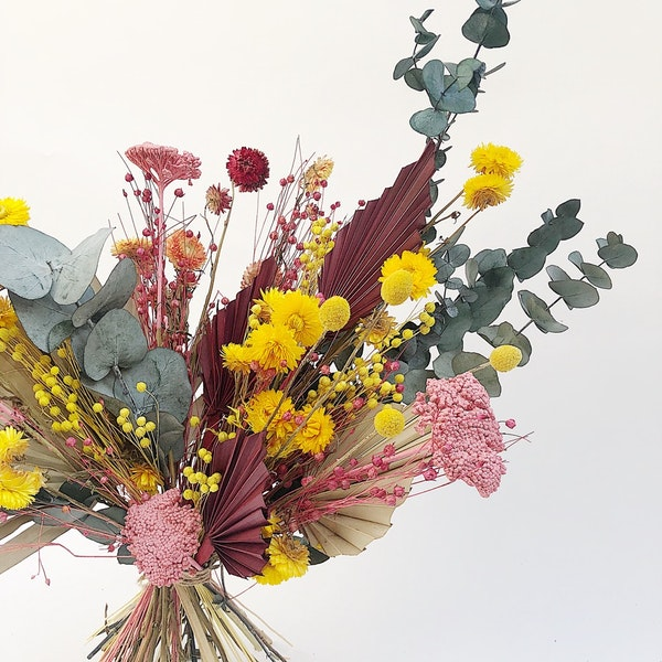 Bright Dried Flowers Flowers Botanique Workshop Floom
