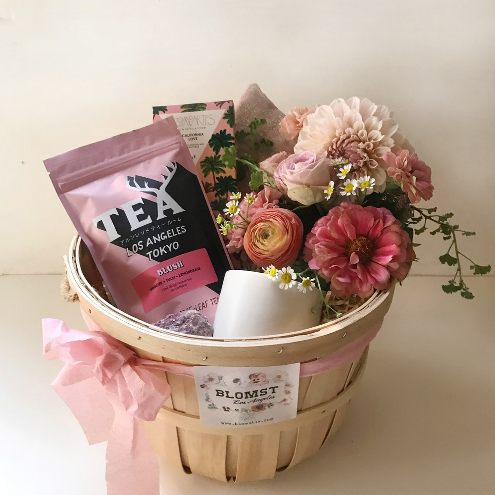 Blush Bliss Basket