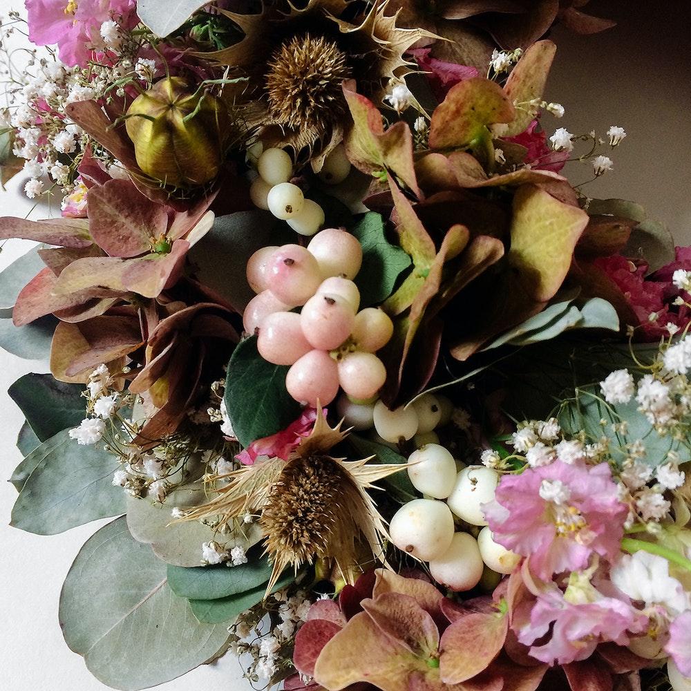 Autumn Wreath Pastel