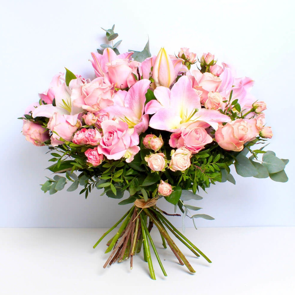 Rose and Lily Pink