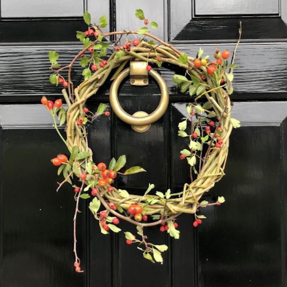 Autumn Willow Wreath